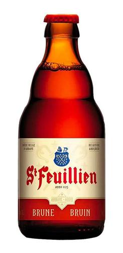 Imagem 1 de 1 de Cerveja St Feuillien Brune Ale Belga 330 Ml