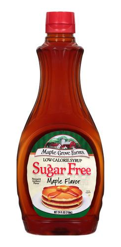 Miel Maple Syrup Sirope Jarabe Arce Sugar Free Libre Azucar