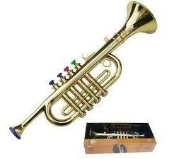 Mini Trompete Infantil Saxofone Musical Acustico Crianças