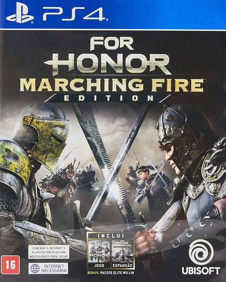For Honor Marching Fire Edition Ps4 Mídia Física Lacrado