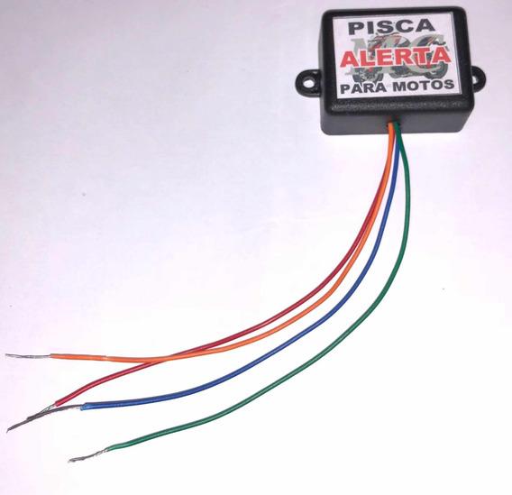 Pisca Alerta Universal Para Moto Fácil Instação C/frete