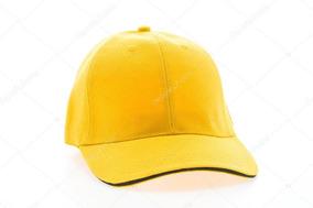 Gorras Unicolor Para Bordar Al Mayor Amarillas