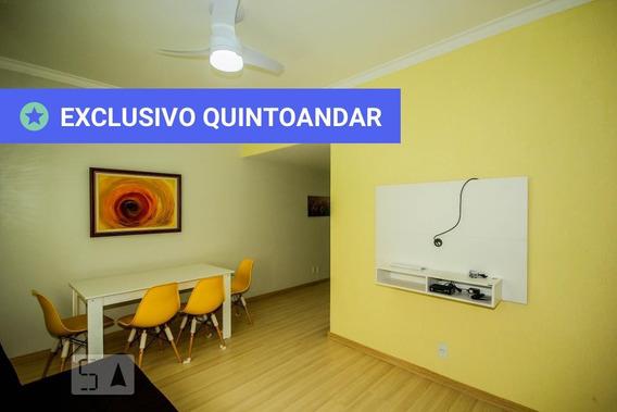 Apartamento No 1º Andar Mobiliado Com 2 Dormitórios E 1 Garagem - Id: 892975860 - 275860