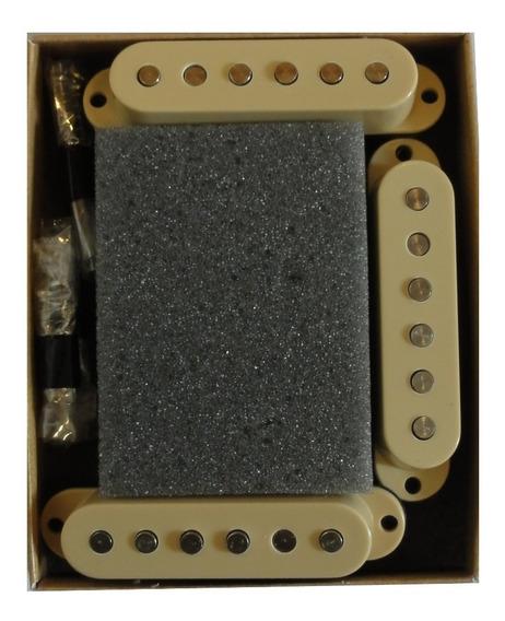 Kit Captadores Malagoli Single Standard S1 Guitarra Strato