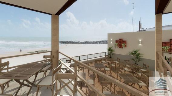 Local Comercial Beira Mar Para Aluguel Com Projeto De Restaurante, Areia Preta