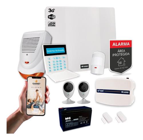 Kit Alarma Sensor Inalámbrico 3g Wifi Sms Internet Camara Ip