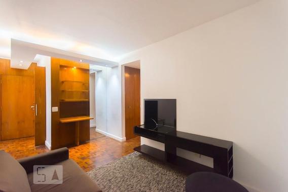 Apartamento No 6º Andar Mobiliado Com 1 Dormitório E 1 Garagem - Id: 892959513 - 259513