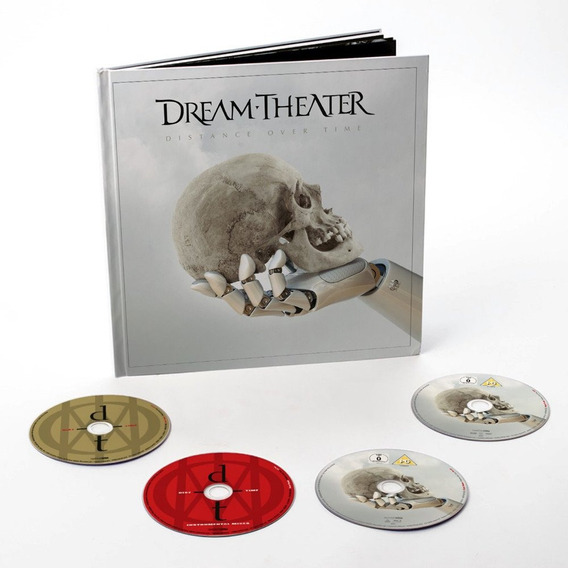Box Dream Theater - Distance Over Time Earbook Cd Dvd Bluray