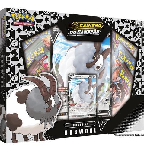 Card Game Pokémon Tcg Box Caminho Do Campeão Dubwool V