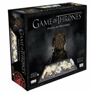 Game Of Thrones, Westeros 4d: Rompecabezas 1400 Pzas.