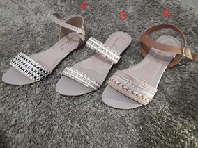 Sandália Kit Com 3 Pares, Numeração Especial