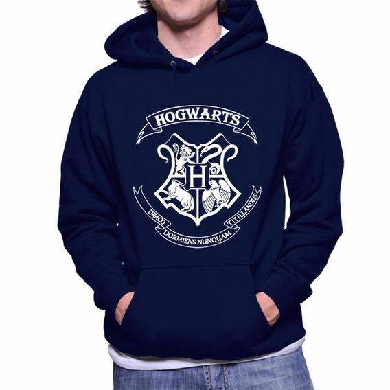 Hogwarts Harry Potter Blusa Moletom Canguru Com Capuz