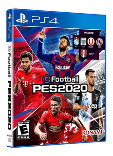 Pes 20 Ps4 100% Original + Póster