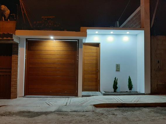 Casa A Estrenar En Cono Sur En Alfonso Ugarte Lll Etapa