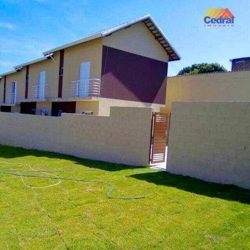 Sobrado Com 2 Dormitórios À Venda, 69 M² Por R$ 350.000,00 - Mogi Moderno - Mogi Das Cruzes/sp - So0480