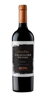 Vino Coleccion Privada Malbec 750ml Botella Navarro Correas
