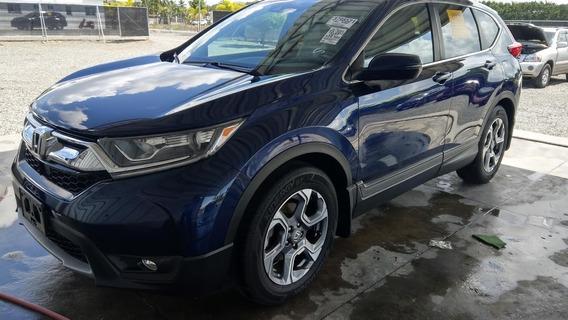 Honda Crv Awd Azul 2017