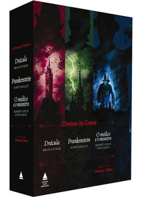 Box Mestres Do Terror: Frankenstein, Drácula, O Médico...