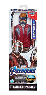 Muñeco Avengers Marvel Starlord 30cm Titan Hero Power