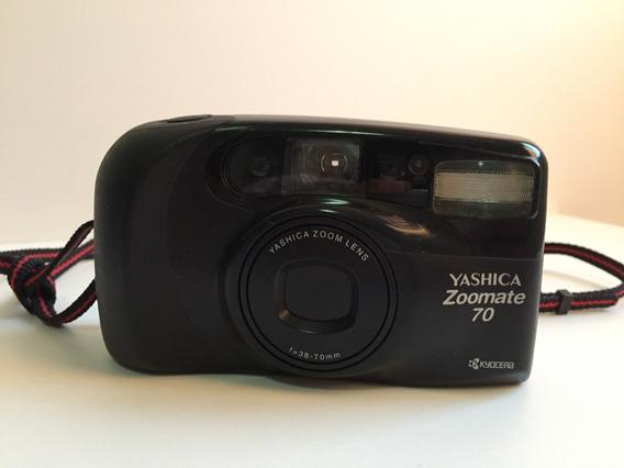Câmera Fotografica Yashica Zoomate 70 35mm