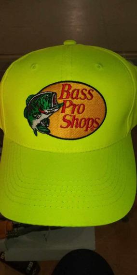 Gorra Bass Pro Shops Naranjas Y Amarilla Dr-g0011