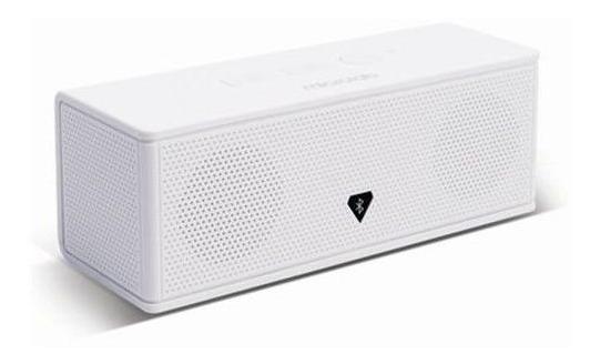 Caixa De Som Portátil Microlab Bluetooth 4w Branco - Md213