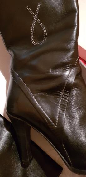 Botas Caña Alta De Mujer