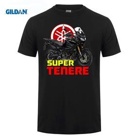 Camiseta Preta Masculina M C Yamaha Tenere Tam M + Promoção