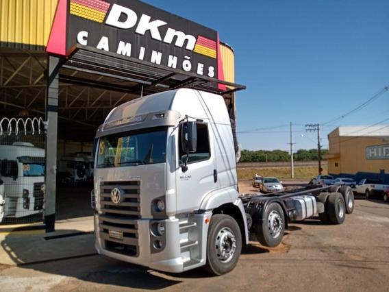 Vw 19330 Ano 2015 Bitruck 8x2 Completo Baixo Km