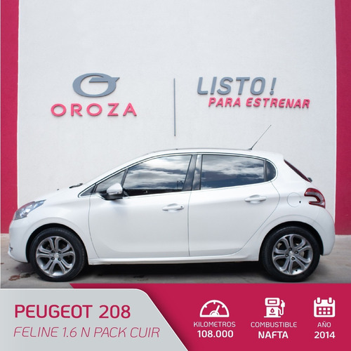 Peugeot 208 Feline 1.6 N Pack Cuir