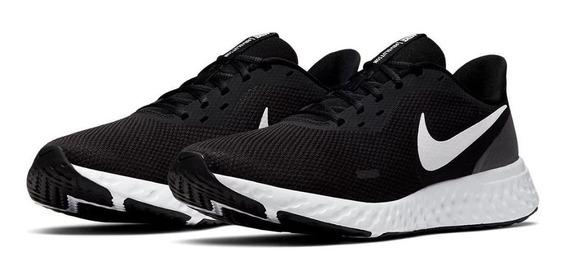 Tênis Nike Revolution 5 Preto E Branco Orginal C/nota