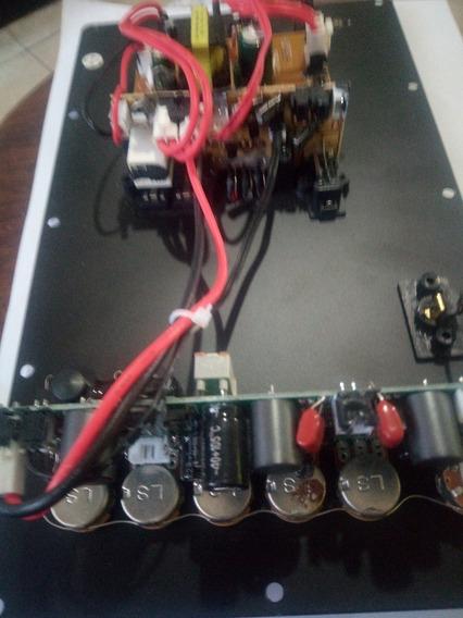 Placa Amplificadora Som Amvox Aca501 Completa