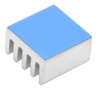 10x Radiador De Alumínio Dissipador De Calor 8.8x8.8x5mm