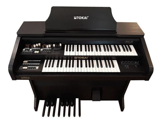 Órgão Eletrônico Tokai Md 20 Preto Fosco