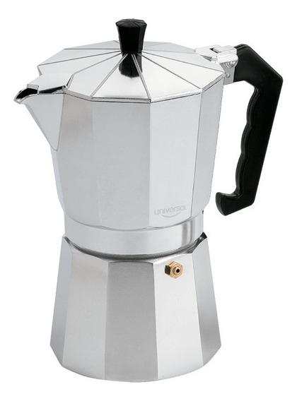 Cafetera Moka Aluminio Universal