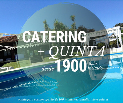 Catering Eventos,pernil Party,alquiler Quinta,catering,pilar