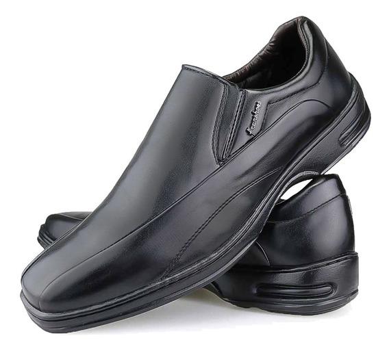 Sapato Masculino Confortável Ortopédico Anatômico Original