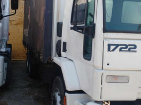 Ford Cargo 1722 Ano 2002 C/ Baú Saider.