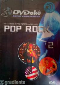 Dvd Para Karaoke Pop Rock Internacional Gradiente