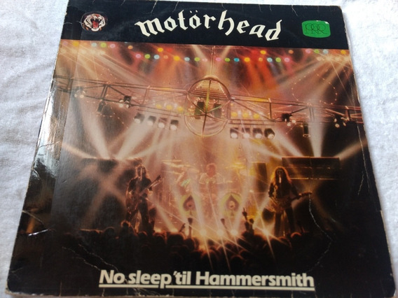 Motorhead No Sleep Til Hammersmith Lp Nacional Live