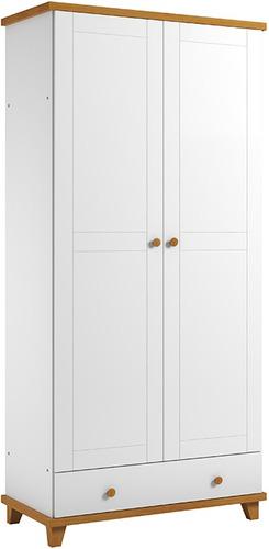 Placard Blanco 2 Puertas Ropero Dormitorios Divino