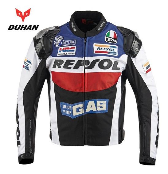 Jaqueta De Proteção Honda Duhan Repsol Motociclismo.