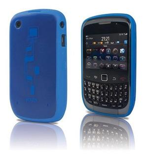 Case De Pc E Tpu Youts Para Blackberry Curve 8500 9300 Azul