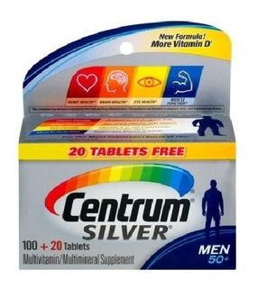 Centrum Silver Men 50 (importado!!!!) 120 Capsulas