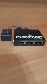 Mikrotik Routerboard Rb 450 Licença Nível 5 Com Case Metal