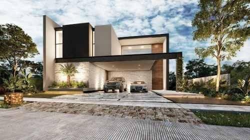 Preventa Casa De 5 Habitaciones (1 En Planta Baja) En El Country Club, Yucatan