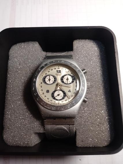 Relógio Swatch Irony Ag1999 Cronógrafo