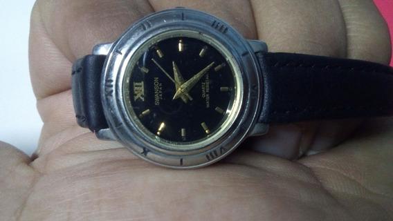 Hermoso Reloj Swanson Diamond 396609 Hecho En Japon Original