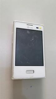 Celular Lg E 400 F Branco Placa Não Liga Os 12155