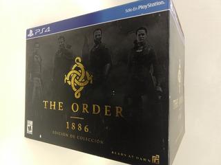 The Order 1886 Ps4 Edición De Colección Nuevo Sellado!!!